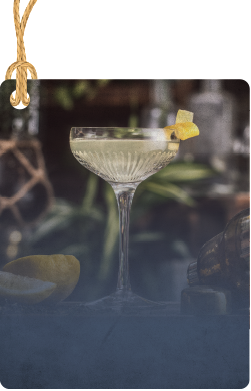 Drumshanbo Gunpowder Martini